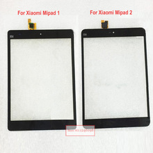 Black For Xiaomi Mipad Mi Pad 2 Touch Screen Touch Panel Digitizer Glass Sensor Lens Mipad1 / Mipad2 Replacement Free Shipping