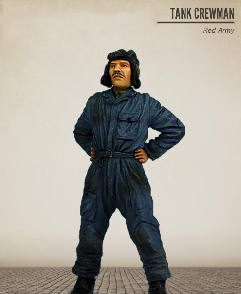 1/35 Soviet Tank Crewman soldier standing toy Resin Model Miniature Kit unassembly Unpainted