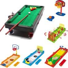 Детские Настольные игры с мячом, настольные пальчиковые игры, мини-футбол, баскетбол, гольф, спортивные игры, игрушки, parcours de bille enf
