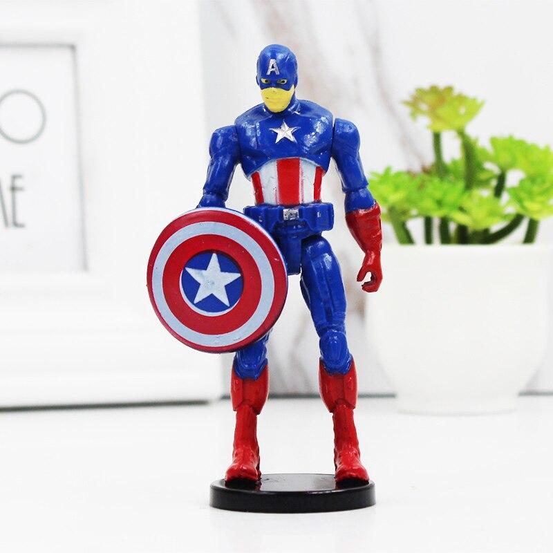 Marvel The Avengers Captain America Superheld Action Figuren Spielzeug Geschenk