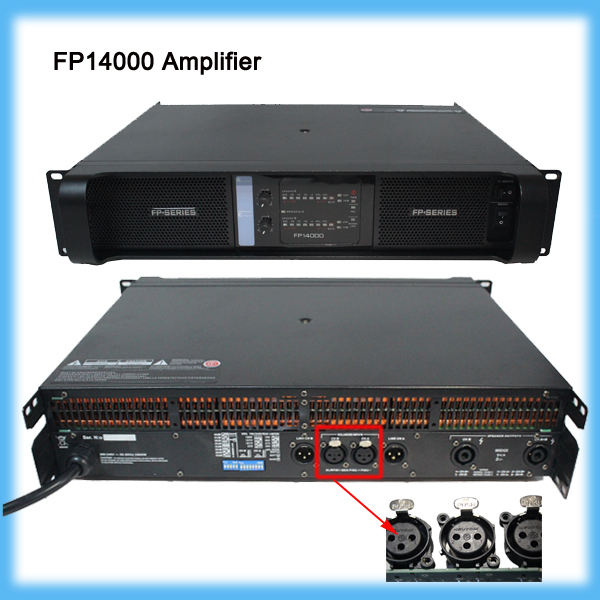 FP14000 Extreme High Power Professional font b Amplifier b font work stable for subwoofer speakers