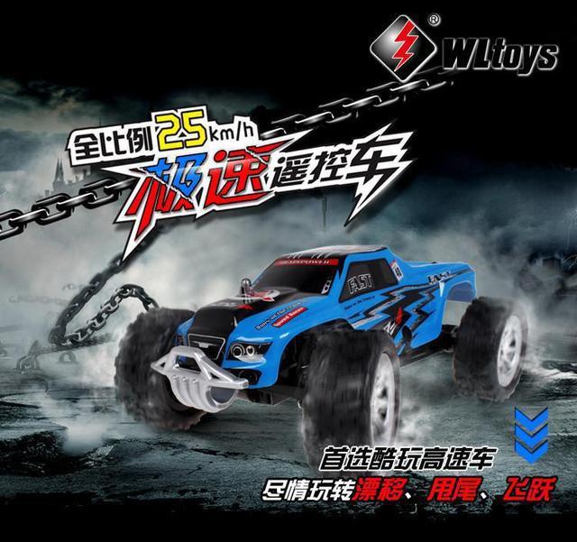 A999 1:24 RC Car 2.4G Brinquedos de Controle Remoto Wltoys 5CH Velocidades controle remoto carro 25 KM/H VS Wltoys L929 Wltoys L939