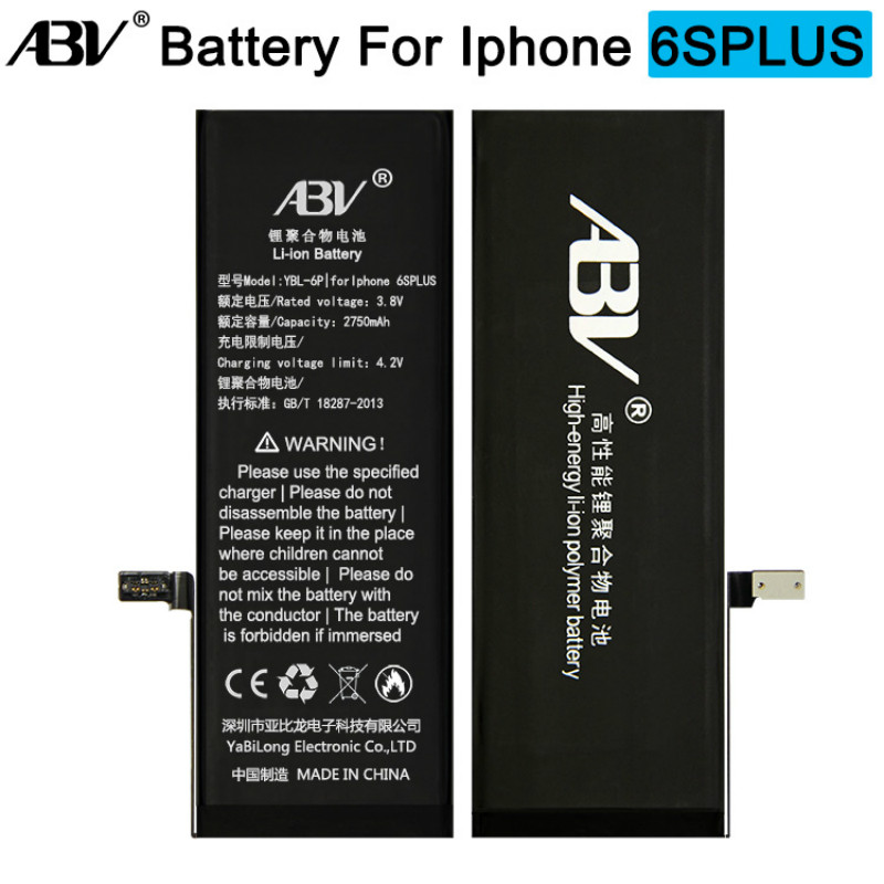 ABV Battery IPhone 6s Bateria Brand Original Ce For Plus With Free-Repairing-Tools