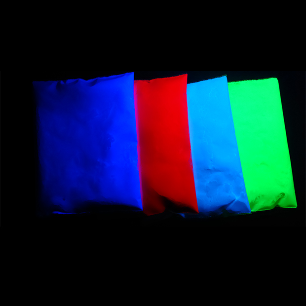 how to make invisible blacklight paint