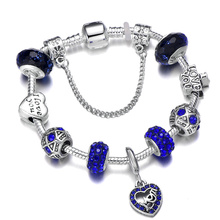 I LOVE MY MOM Charm Bracelet Fit Original Brand & Bangle For Mom Women Fashion Mothers Day Birthday Best Jewelry