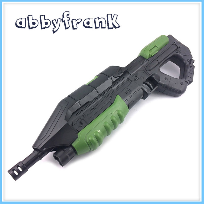 Abbyfrank MA5C 2-in-1 Toy Gun Plastic Airsoft Rifle Water Bullets Paintball Soft Bullet Sniper Orbeez Gift For Children