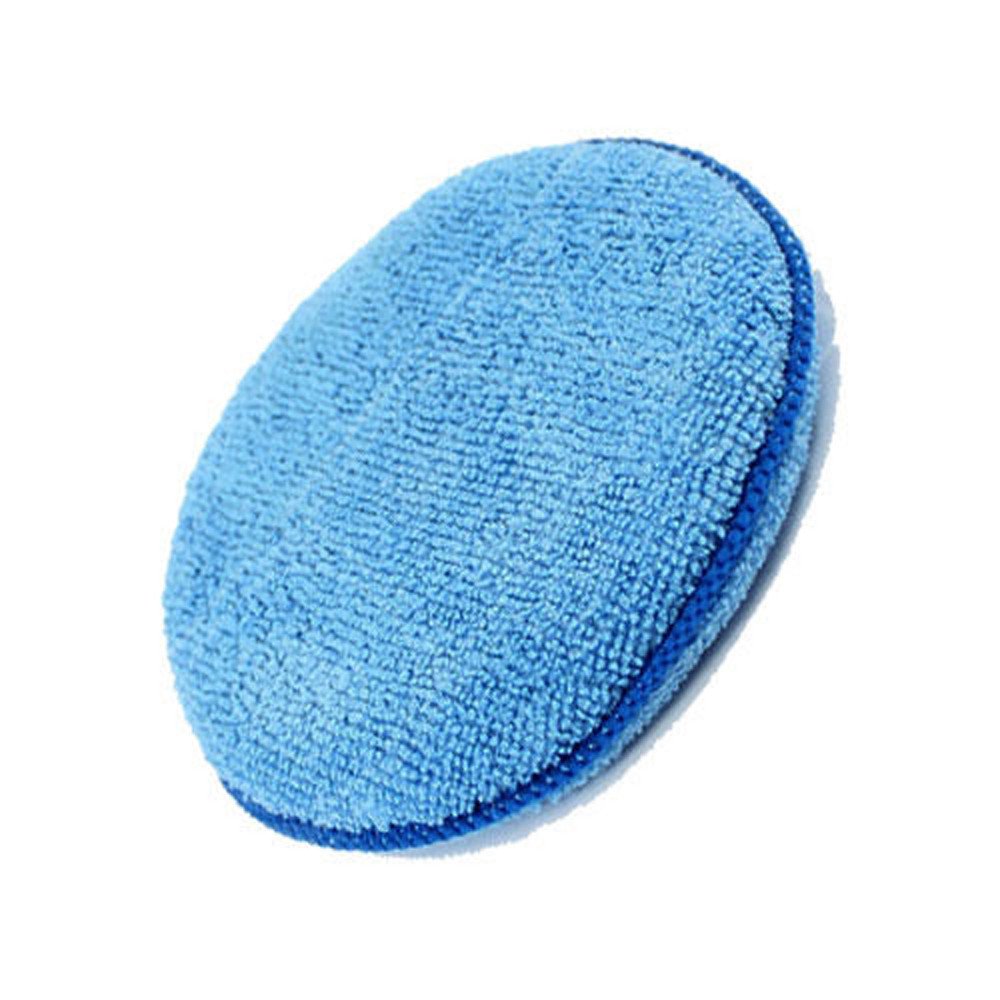 New Arrival 6pcs Microfibre Foam Sponge Polish Wax Applicator Pads Car Home Cleaning au30Sep 21