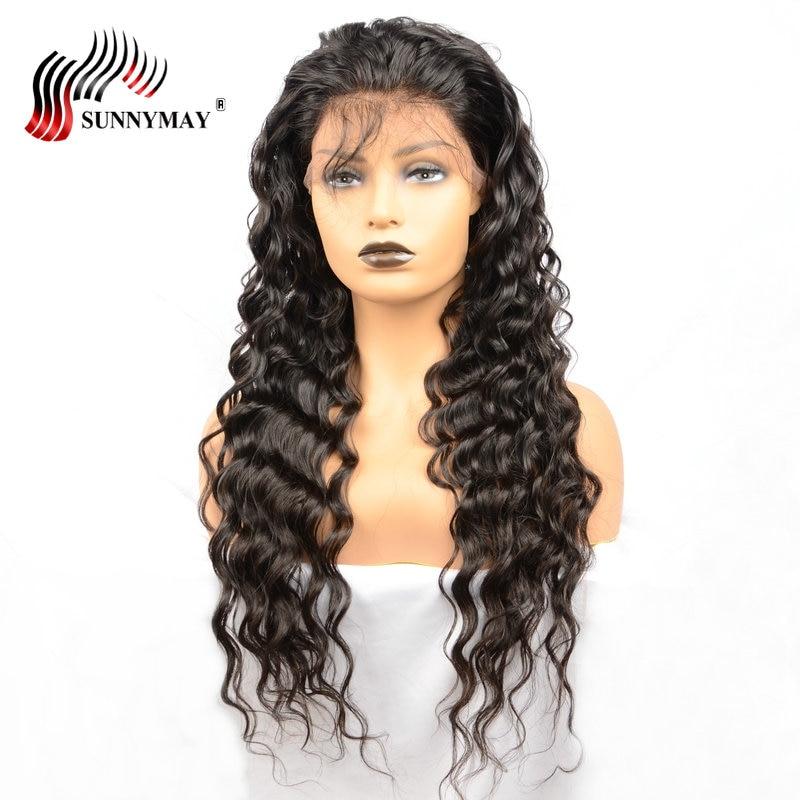 Sunnymay Πλήρης Lace Ανδρικά μαλλιά - Ανθρώπινα μαλλιά (για μαύρο) - Φωτογραφία 2
