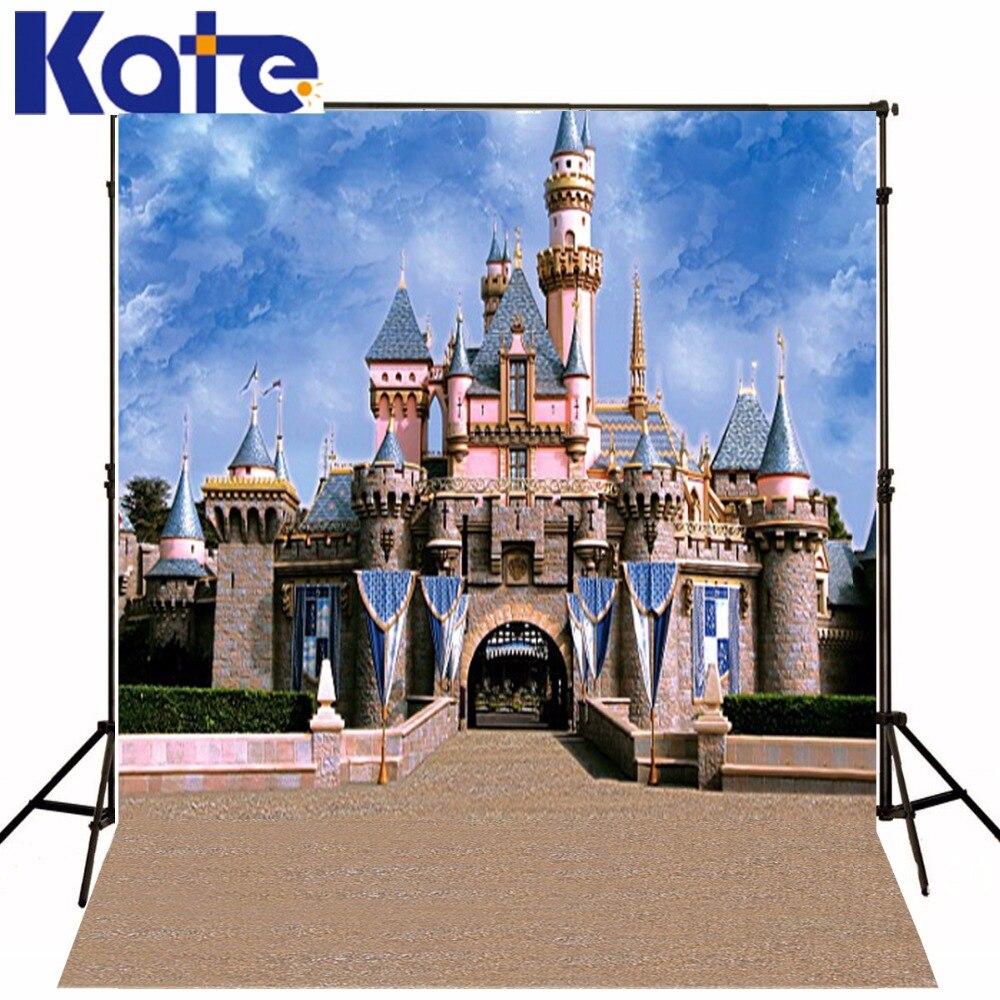 5Feet * 6,5 Füße Hintergrund Majestätischen Schloss Banner Fotografie Backdropsthick Tuch Fotografie Hintergrund 3232 Lk