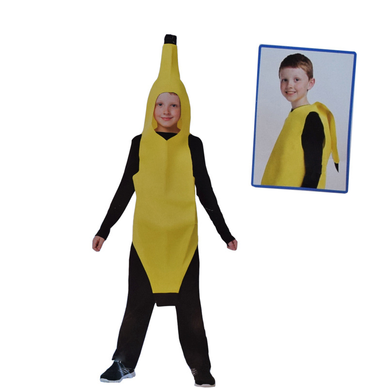 2017free shipping men cosplay adult fancy dress funny sexy banana costume novelty halloween christmas carnival party decorations in anime costumes from - Banana Costume Halloween