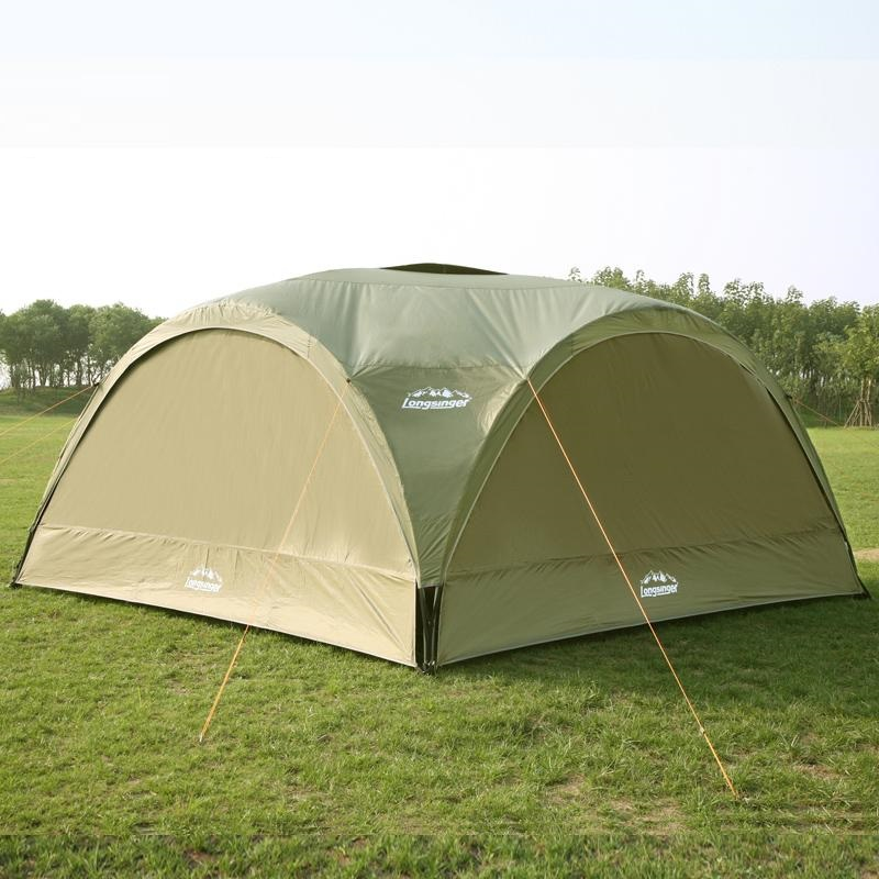 Été en plein air super grande tente de camping auvent tente auvent publicité tentes Pergola plage tente ultralarge anti-uv gazebo - 4