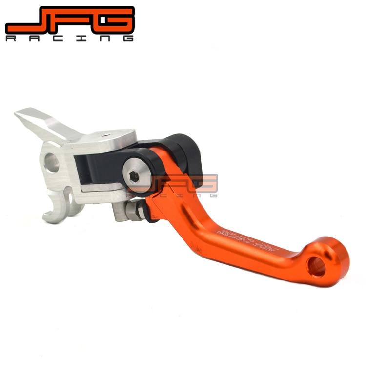 4 Directions Foldable Aluminum Billet Pivot Brake Lever For KTM EXC SXF SX XCW 125 200 250 300 350 450 500 525 530 Dirt Bike cnc billet foldable pivot clutch page 2
