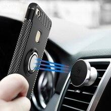 For Vivo V11 Pro Case V11i 360 Degree Ring Finger Holder Car Magnet Phone V 11 Cover Silicon