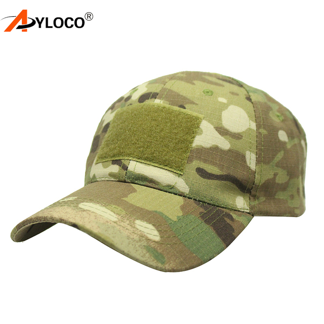 0d24aebeb44 AYLOCO Tactical Snapback Camouflage Hat Men Multicam Soldier Combat US Army  Caps Unisex Casual Airsoft Paintball Baseball Caps