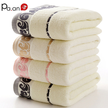 New Luxury 100% Cotton 70x140cm Bath Towel Super Soft Quick-Dry Comfortable Hand Touch Big Size Hotel Home Bathroom