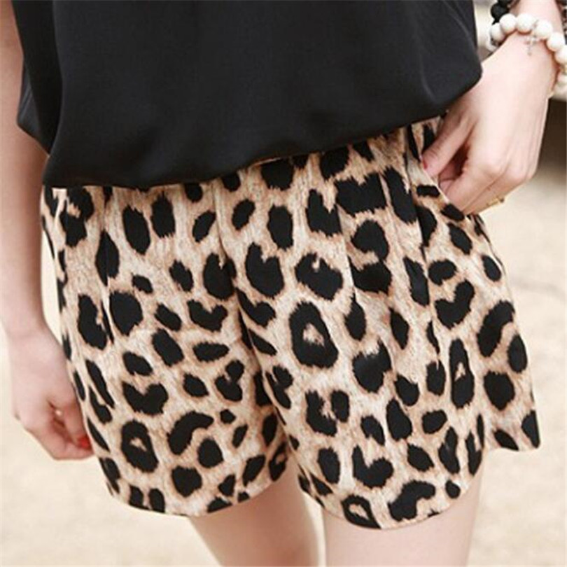 YRRETY Sexy Leopard Shorts 2020 Summer Fashion New Ladies Women Printed Shorts Hot Sale Sports Short Trousers Beach Plus Size