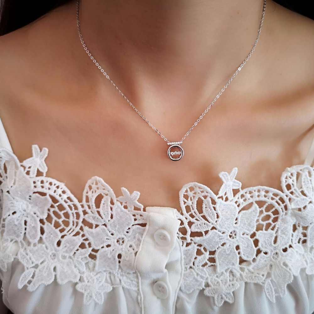 Завод ZTUNG GCBL19 ROR MO Commission для ожерелья имеет серебряный цвет или золотой цвет около 45 см с упаковкой хороший подарок