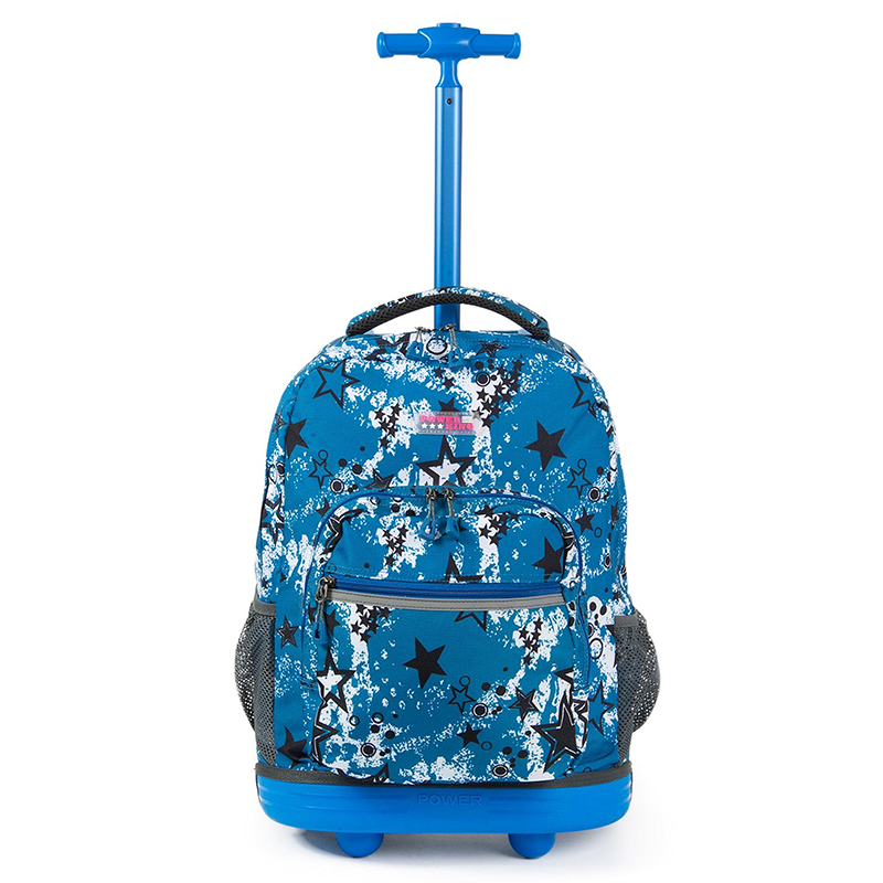 Kids Rolling School Bags Girls Boys Trolley Case Children Travel Suitcase School Teenage ...