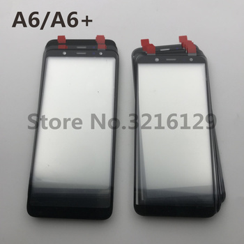 50pcs/LOT Original OME For Samsung Galaxy A6 2018 A600 SM-A600F A6+A605 A605F LCD Front Touch Screen Glass Outer Lens
