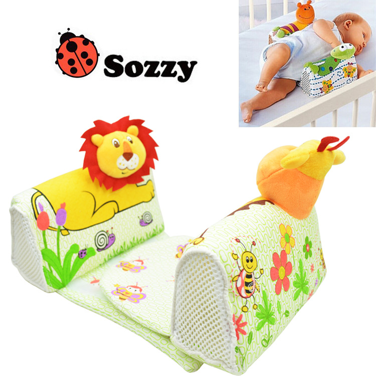 New Sozzy Baby Side Sleeping Pillow Finalize Design Pillow