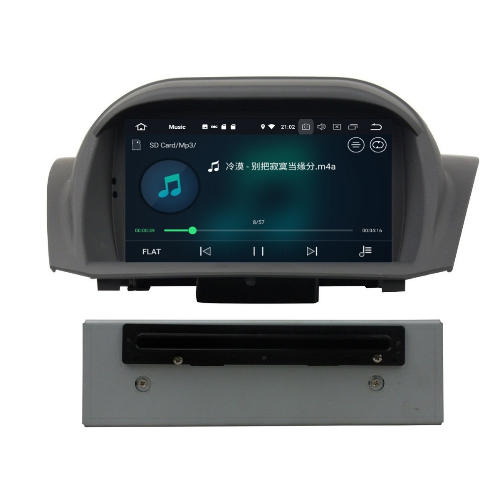 4GB RAM Octa Core 1 din 7 Android 8 0 Car Radio DVD Player for Ford