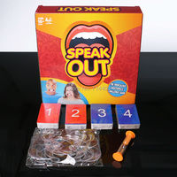 Hot Sale Speak Out Game Toys Hottest Family Catch Phrase Games Interesting Party Toy Halloween Christmas