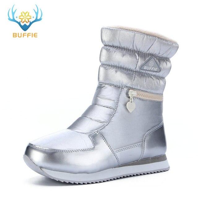 2018 New style Damens Stiefel fashion fashion fashion silver winter Stiefel warm snow ... d5602f