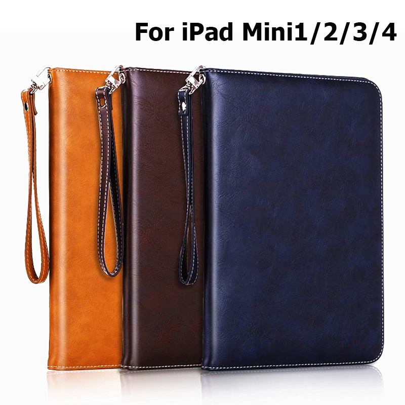 Luxus PU Business Style Tablets Ständer Cover für Fundas Apple iPad - Tablet-Zubehör