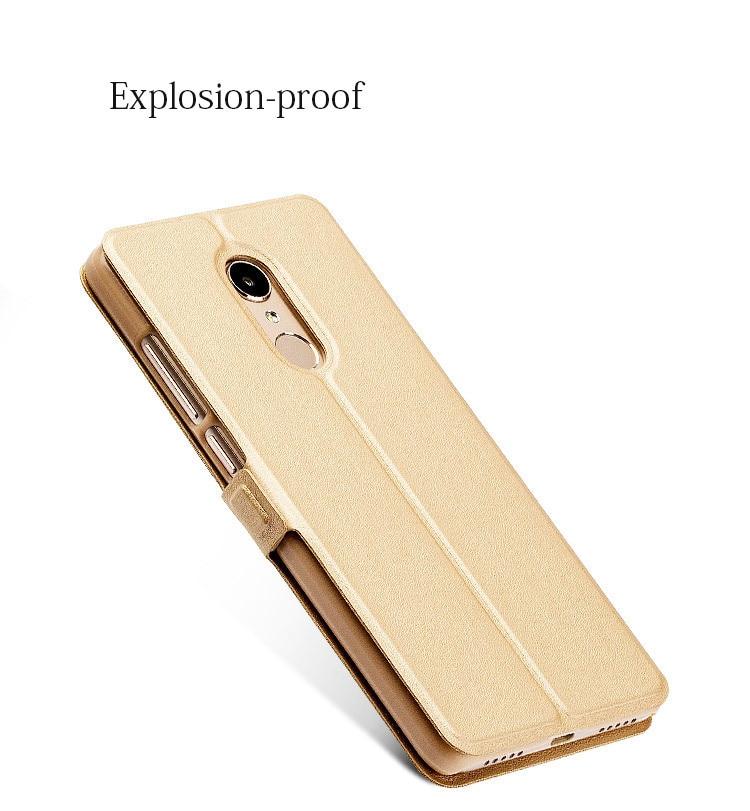 Smart window hard flip leather case for xiaomi redmi 5 plus 5a note 5 5a pro 6 6a 6 pro 07