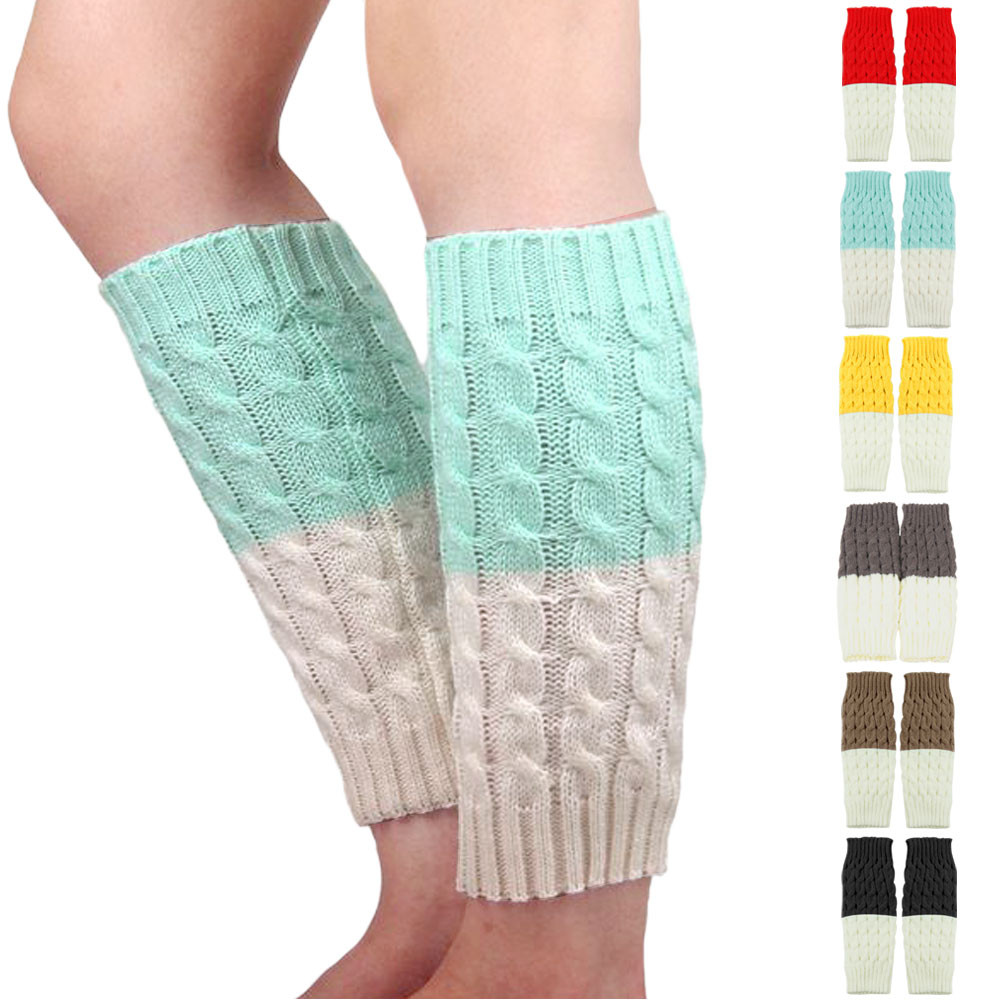 Armstulpen Damen-accessoires 2018 Mode Frauen Winter Warme Beinlinge Gestrickte Scoks Häkeln Lange Stiefel Socken Neue Ankunft Boot Socken Drop Verschiffen 1a16