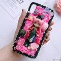 Чехол для Samsung S9/10 plus + DIY note8/note9 3D чехол для телефона Sailor Moon Galaxy s8/s9 + s6/s7 edge ручной работы кремовый чехол для девочек Подарки