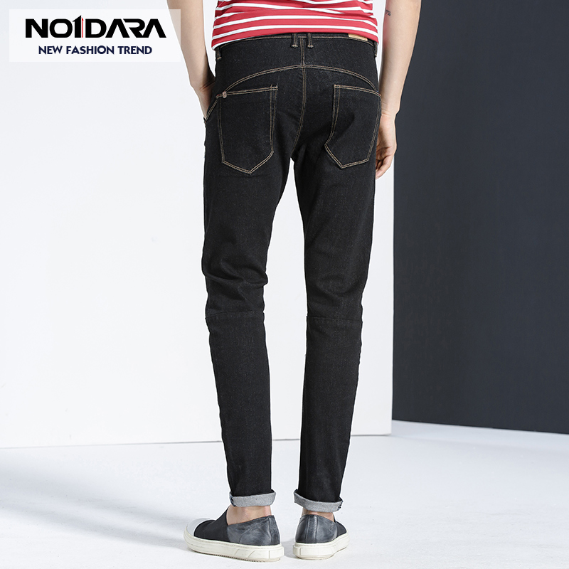 No.1 dara jeans men summer new washed pants casual feet mens pants skinny jeans men moda hombre 2018 pantalon jeans hommes