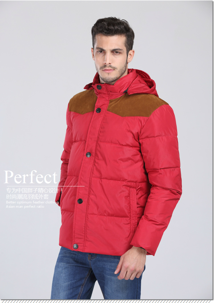 Diligent 2018 New Arrival Winter Male Down Coat Jacket With Hood Casual Fashion Plus Size Xl- 4xl 5xl 6xl 7xl 8xl 9xl 10xl 11xl 12xl 13xl Rich In Poetic And Pictorial Splendor