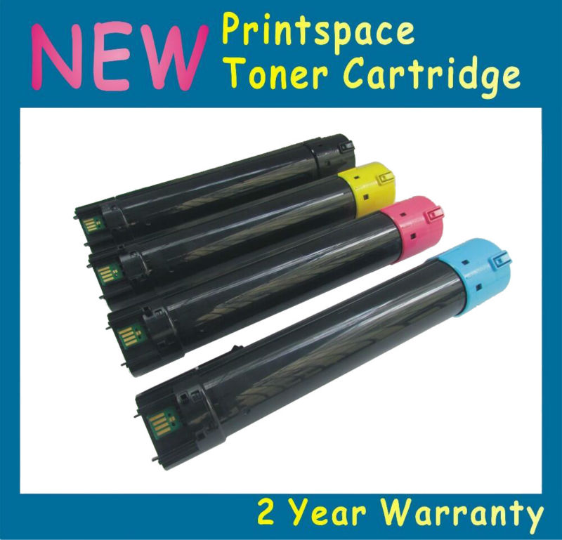 4x  NON-OEM Toner Cartridges Compatible For Dell 7130 7130n 7130cn 7130cdn KCMY Free shipping