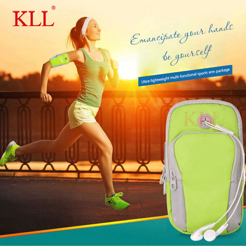 Sports Running Armband Bag Case Cover Running armband Universal Waterproof Sport mobile phone Holder Outdoor Sport Phone Arm pou