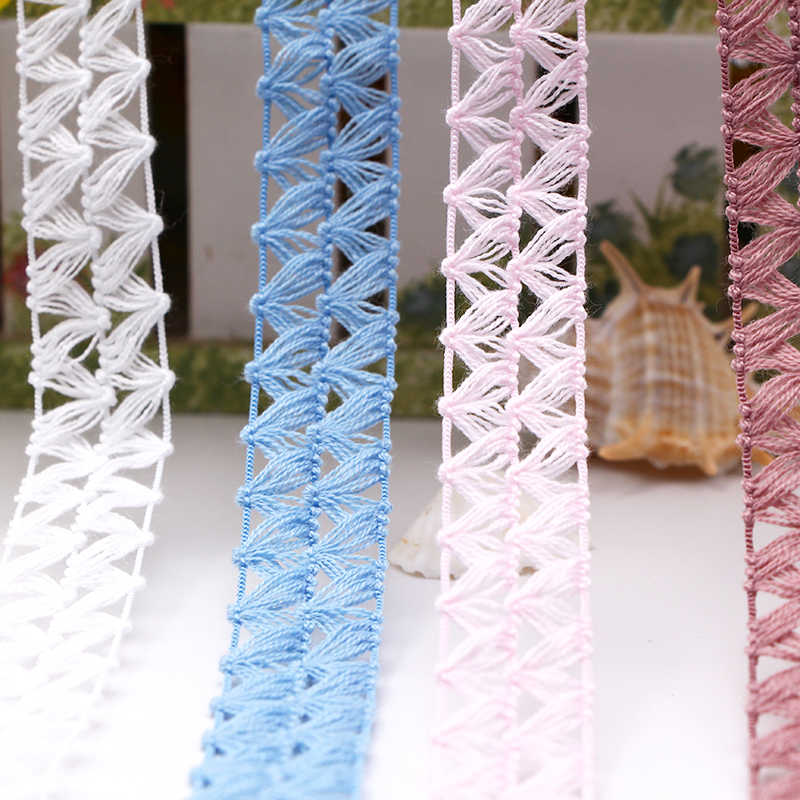 Mới! 5 M/10 M đẹp phối băng ren 15mm DIY trang trí phụ kiện ngày lễ cưới May Đa Năng Song Phương Phối Ren Lưới ruy băng