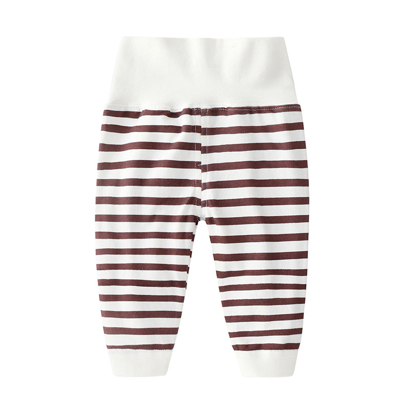 New Pure Cotton Baby's Clothing Spring Autumn Baby Boys Girls High Waist Thermal Underwear