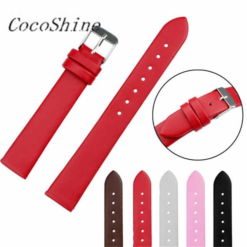 CocoShine A-912 Fashion Women Leather Watch Strap Watchband Watch Band 16mm/20mm !Support wholesale wholesale Free shipping