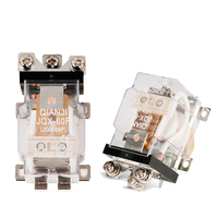 ELECALL Brand New 1Piece JQX 60F 1Z 60A AC220V Power Relay Coil Electromagnetic Relay