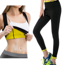 New Plus Women Yoga Set Gym Fitness Clothes Slimming Shirt+Pants Running Tights Jogging Workout Yoga Leggings Trainer Sport Sets yoga pants women running tights s xl sport fitness leggings stretching slimming hip up gym tights flower jogging workout pants