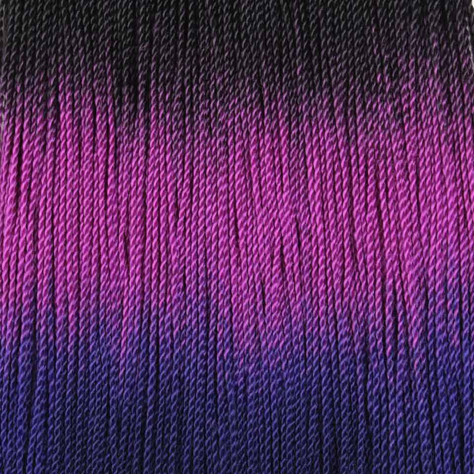 Xtrend от 3 до 10 упаковок кроше волос Омбре Сенегальские накрученные волосы синтетические для Плетения КОС 24 дюймов 30 корней плетение мех наращивания