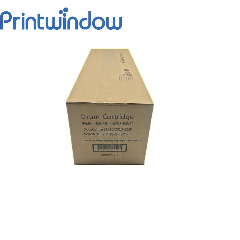 Printwindow New Original Drum Unit  for Xerox S1810 S2010 2420 2320 S2520 S2011 Drum Cartridge Kit ct350767 ct350593 drum chip for xerox apeosport ii350i 450i 3000 4000 iii3010 4000 jp drum laser printer cartridge refill reset