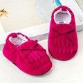 New Baby Camurças Sapatos Mocassins Borlas Recém-nascidos Meninos Meninas Sapatilhas Sapatilhas Primeiro Walker toddle Bebês Berço Macio