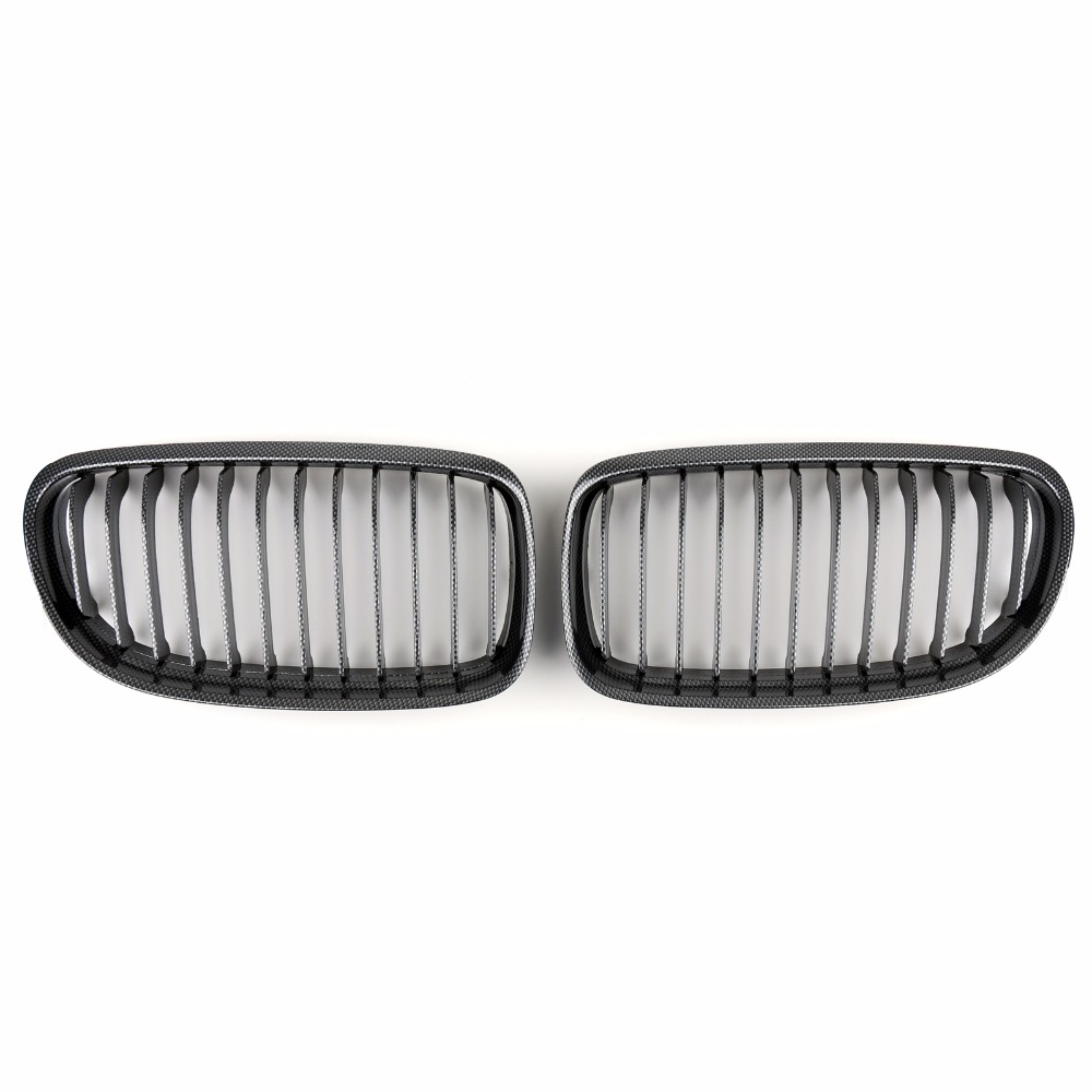 Areyourshop Car For BMW Kidney Hood Grilles Cover For BMW E90 E91 LCI 3 Series 2008-2012 ABS Plastic Car Auto Styling Covers