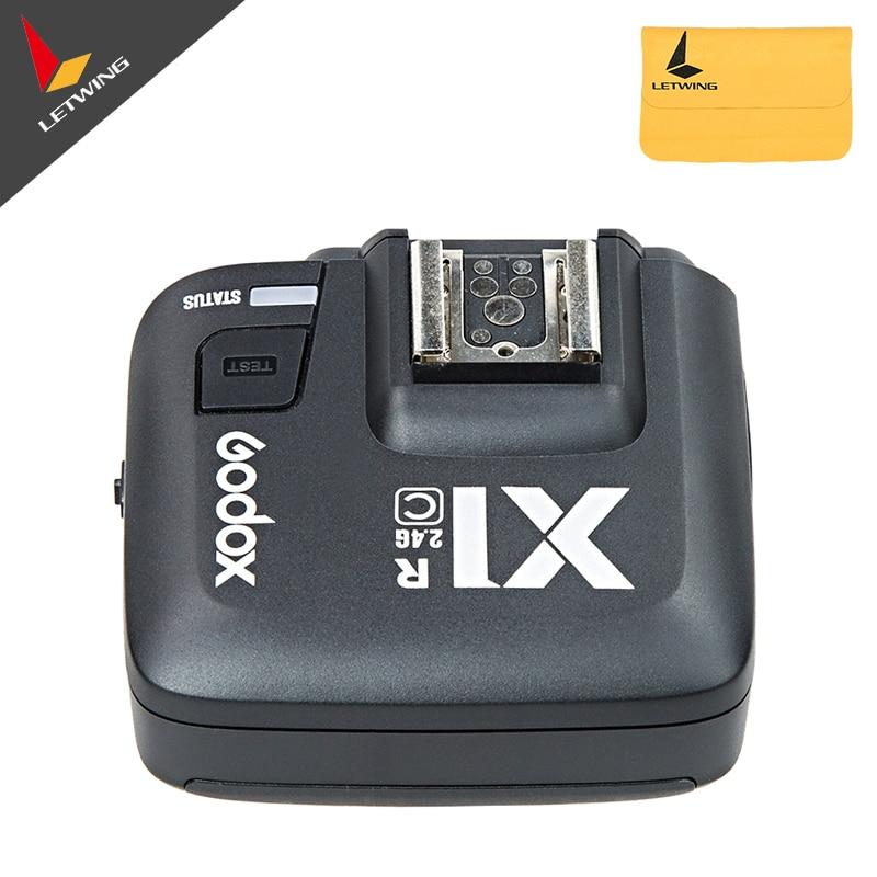 Godox X1C TTL 2,4 G trådløs mottaker for Canon 1000D 600D 700D 650D - Kamera og bilde