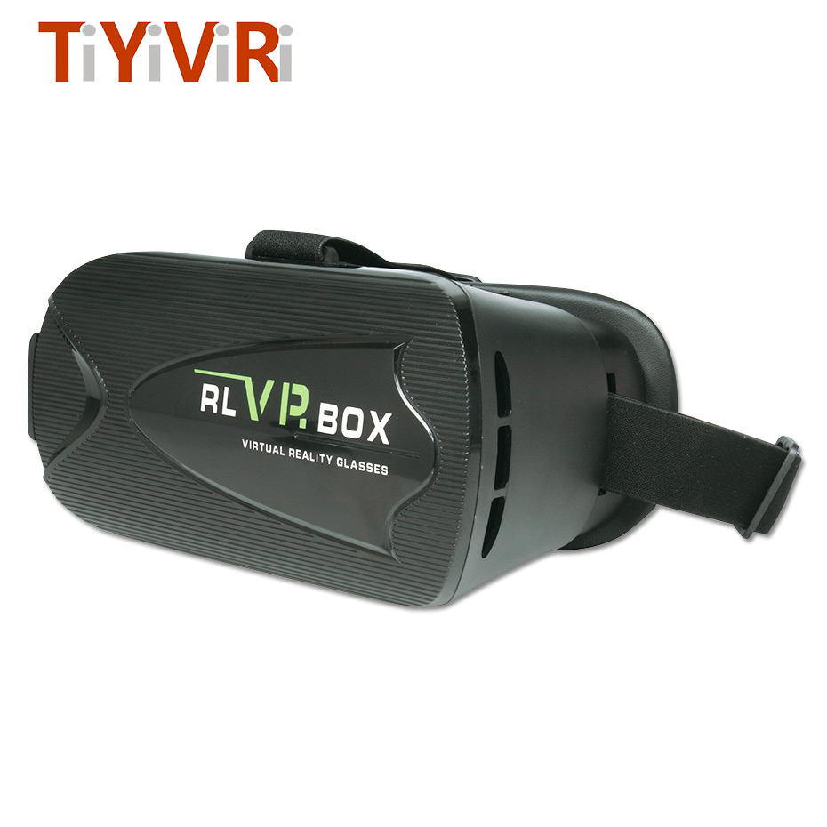 VR Box Virtual Reality Goggles Googles Cardboard VR 3D Glasses For 3.5-6.0 inches Smartphones High Quality Virtual Glasses