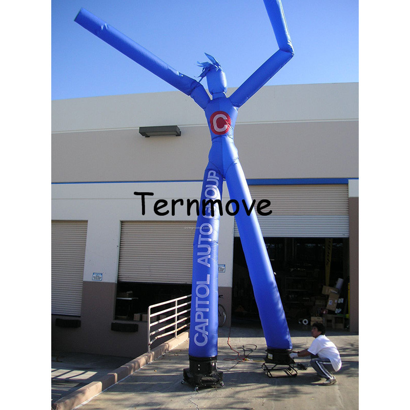 Inflatable Air Dancer Double Legs sky dancer costumes inflatable advertising air puppet moving man dancing people 6mh advertising air dancer customized logo inflatable tube man single tube sky dancers inflatable dancing man with arrow