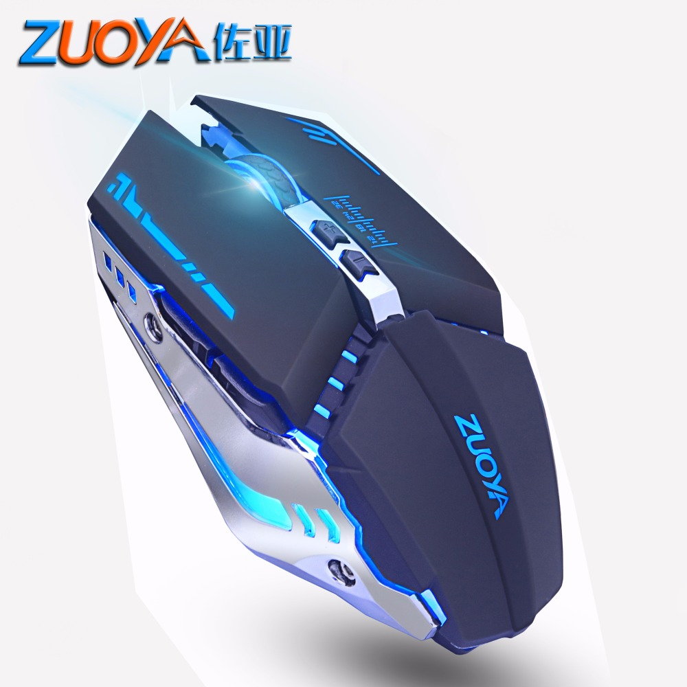 Professional Gaming Mouse Adjustable 4800 DPI LED Optical Computer Mouse Gamer Wired Mice USB Game Mouse For PC Laptop Original
