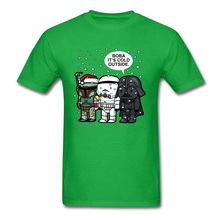 Star War Boba Its Cold Outside Men's T-shirts