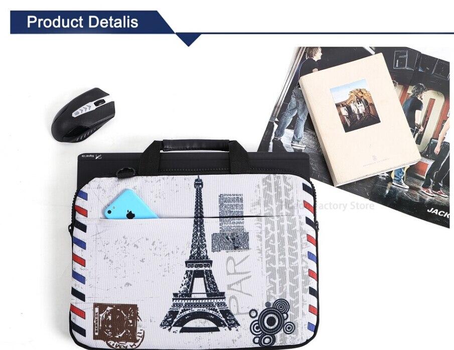 wholesale Canvas laptop bag for macbook air/pro 13 case 13.3 15.6 17.3 laptop message bag